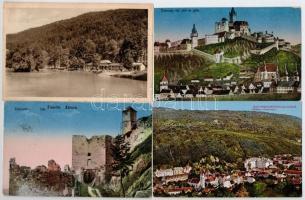 Trencsén, Trencin; 12 db főleg régi képeslap / 12 mostly pre-1945 postcards