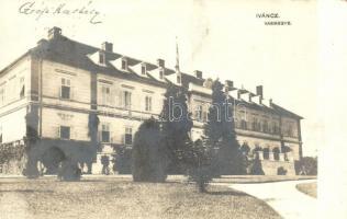 1911 Ivánc, báró Sigray kastély, photo
