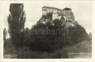 Árvavára, Oravsky Zamok; vár / castle