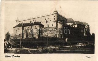 Zólyom, Zvolen; vár / castle