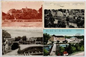 Pöstyén, Piestany; - 8 db főleg régi képeslap / 8 mostly pre-1945 postcards