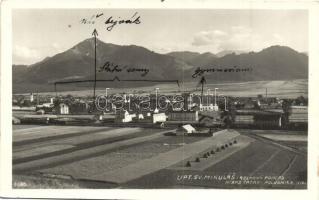 Liptószentmiklós, Liptovsky Mikulas; - 3 db vegyes képeslap / 3 mixed postcards