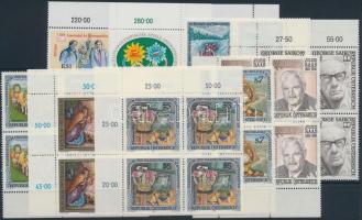1991-1992 9 klf négyestömb