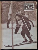 1967 A Képes Sport teljes évfolyama bekötve