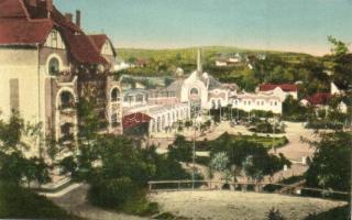 3 db RÉGI erdélyi képeslap, Vízakna és Marosújvár / 3 pre-1945 Transylvanian postcards, Ocna Mures and Ocna Sibiului