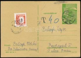 1934 + 1967 2 db portós küldemény