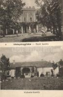 Nyáregyháza, Alsónyáregyháza; Manó és Wekerle kastélyok
