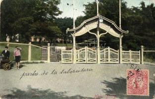 Helsingborg, Folkets park, children, TCV card (EK)