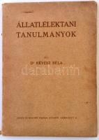 Dr. Révész Béla: Állatlélektani tanulmányok. Bp., (1911), Singer és Wolfner. Dedikált! Kiadói papírkötés, kissé kopottas állapotban.