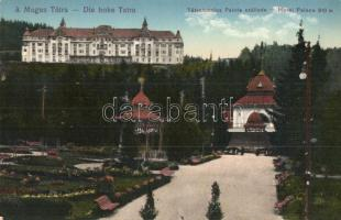 Tátralomnic, Tatranska Lomnica; Palota szálloda / hotel