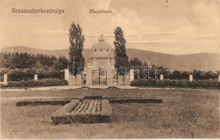 Krasznahorkaváralja, Krásnohorské Podhradie; Mauzóleum / mausoleum