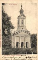 Tápiószele, Ágostoni evangélikus templom. Hoffer Ignác (vágott / cut)