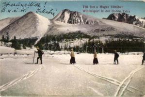 Tátra, téli sportélete. Dr. Guhr Mihály felvétele / Wintersport