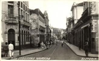 Vitória, Victoria; Rua Jeronymo Monteiro / street view, photo