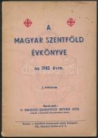 1942 A Magyar Szentföld évkönyve az 1942. évre, I. évfolyam, 80p