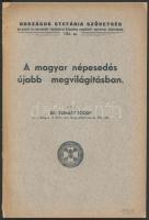 1939 Dr. Szénásy József: A magyar népesedés újabb megvilágításban, Országos Stefánia Szövetség az anyák és csecsemők védelmével államilag megbízott szervezet kiadványai 134. sz., 41p