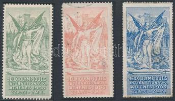 1906 3 klf olimpiai levélzáró