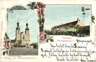 Boldogasszony, Frauenkirchen; Isidor Schey floral (b)