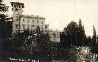 Abbazia, Villa Jean Kubelik, Jelussich photo