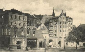 1913 Budapest V. Bontásban lévő Városház téri piarista ház
