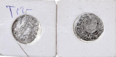 1630K-B Denár Ag (0,4g) + 1631K-B Denár Ag II. Ferdinánd (0,41g) T:2- Huszár: 1204.,1205. Unger II.: 916.c,917.a