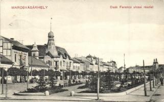 Marosvásárhely, Targu Mures; Deák Ferenc utca. Rákóczi tőzsde kiadása / street (EK)
