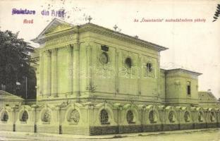 Arad, Összetartás szabadkőműves páholya / Freemasonic lodge (EK)