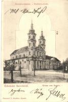 Sasvár, Sassin, Sastin; Búcsújáró templom, kiadja Emánuel J. / church