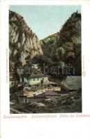 Brassó, Kronstadt, Brasov; Salamon szikla, kiadja Wilhelm Hiemesch / rock