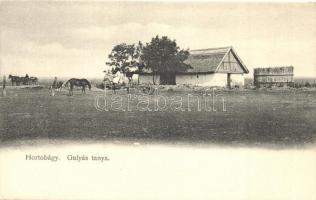 Hortobágy, Gulyás tanya