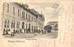 Siklós, Pelikán szálloda. Feiler Mariska kiadása