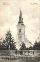 Tiszaszőlős, Református templom, Tiszaszőlősi fogyasztási szövetkezet kiadása (EK)