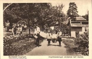 Budapest XII. Zugliget, Angolkisasszonyok zárdája, kert