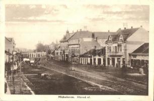 Nagymihály, Michalovce; Fő utca / Hlavna ul / main street (EK)