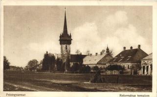 Fehérgyarmat, Református templom, kiadja Mátyás Adolf (EK)