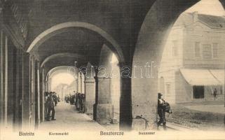Beszterce, Bistritz, Bistrita; Búzaszer / Kornmarkt / square