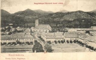 Nagybánya, Baia Mare; Főtér északi oldala / main square (Rb)