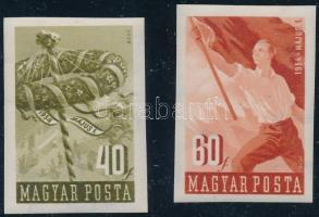 1954 Május 1. vágott sor (8.000)