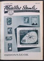 1955-1960 Filatéliai szemle teljes évfolyamai 2 kötetben