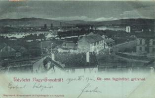 Nagyenyed, Aiud; Fegyintézet és gyárai / prison and factories