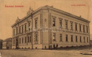 Zsibó, Jibou; Királyi Járásbíróság. Merza testvérek kiadása / court