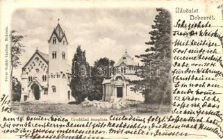 Doboz, Uradalmi templom, kiadja Véver Oszkár