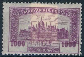 1920 Parlament 1000K az értékszám felfelé eltolódott