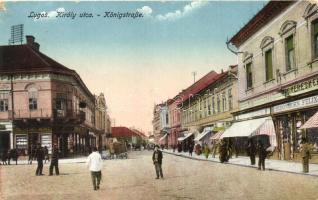 Lugos, Lugoj; Király utca, Schönborn Félix, Lugosi üvegudvar (kis szakadás / small tear)