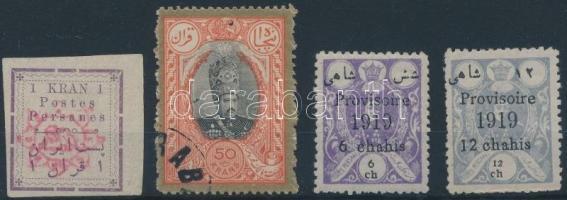 4 klf perzsa bélyeg (Mi EUR 210.-)
