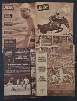 Képes Sport 12 száma az 1960-as évekből