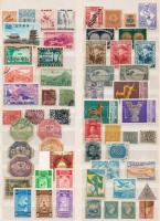 Ázsia, Dél-Amerika, Afrika Kb. 88 db bélyeg berakólapon (~Mi EUR 1000.-)