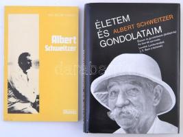 2 könyv Albert Schweitzerről