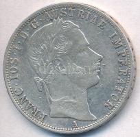 Ausztria 1860A 1Fl Ag Ferenc József T:2,2- Austria 1860A 1 Florin Ag Franz Joseph C:XF,VF Krause KM#2219