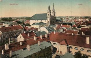 Komárom, Komárno; Látkép / general view (kopott sarkak / worn corners)